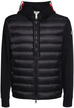 Moncler Nylon Down & Cotton Jacket
