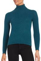 Lord & Taylor Petite Cashmere Turtleneck Sweater
