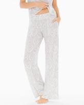 Soma Intimates Pajama Pants Delicate Sroll Ivory