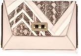 Diane von Furstenberg 440 Gallery Secret Agent zip-on clutch