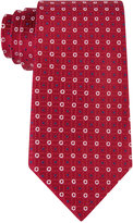 Tommy Hilfiger Men's Red Group Neat Tie