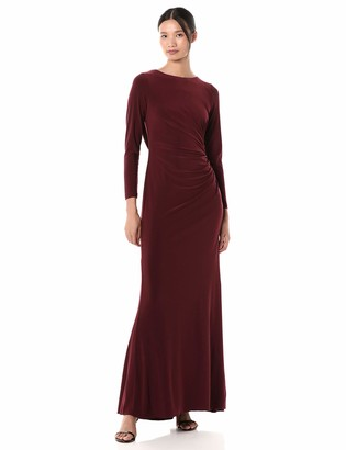 Adrianna Papell Women's Draped Jersey Gown