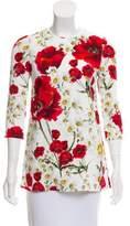 Dolce & Gabbana Floral Print Tunic w/ Tags