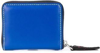 Heron Preston Square Logo Print Wallet Blue