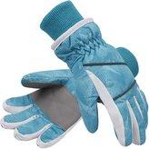 SimpliKids Simpli-Kids Girl's Waterproof Thinsulate Winter Ski & Snowboard Gloves, Stars Pattern,L