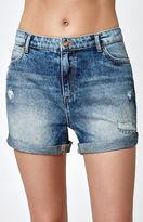 Wrangler Denim Boyfriend Shorts