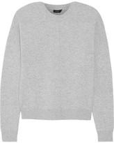 Joseph Boiled Wool Sweater - Gray