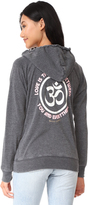 Spiritual Gangster Love is the Bridge Dharma Zip Hoodie