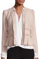 Rebecca Taylor Tweed Peplum Jacket