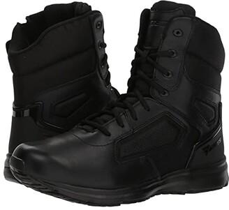 Bates Footwear Raide Hot Weather Side Zip Tactical (Black) Men's Work Boots