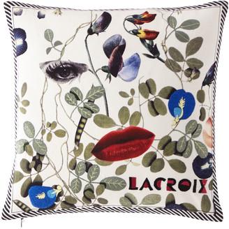 Christian Lacroix Dame Nature Printemps Pillow