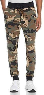 True Religion Big T Camouflage Print Sweatpants