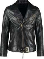 Tiger Of Sweden Jeans Hellish Leather Jacket Black