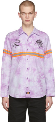 Dickies Clot Purple Edition Tie-Dye Work Shirt