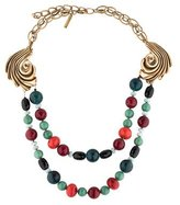 Oscar de la Renta Multi-Stone Bead Necklace