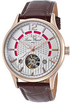 Lucien Piccard 15038-RG-02S Men's Transway Auto Brown Genuine Leather