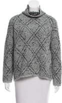 Soft Joie Patterned Wool-Blend Sweater