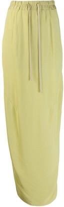 Rick Owens Side Slit Skirt