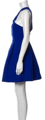 Aq/Aq Halterneck Mini Dress Blue Halterneck Mini Dress