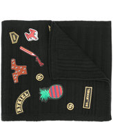 Sonia Rykiel patches scarf