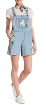 French Connection Denim Short Overalls