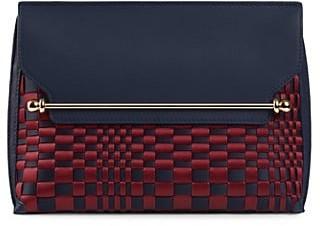 Strathberry East/West Stylist Woven Crossbody Bag