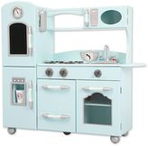 Teamson Kids My Little Chef Retro Play Kitchen in Mint