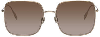 Christian Dior Gold DiorStellaire1 Sunglasses