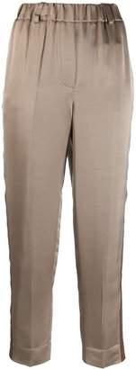 Incotex side-stripe trousers