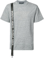 Mostly Heard Rarely Seen logo stripe T-shirt - men - Cotton - S
