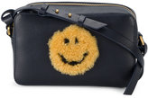 Anya Hindmarch mini Smiley cross-body bag - women - Leather/Sheep Skin/Shearling - One Size
