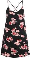 Even&Odd Jersey dress black/pink