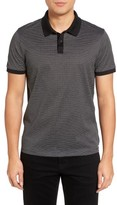 BOSS Men's Parlay Micro Print Polo