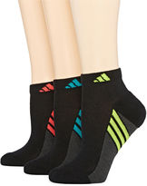 adidas 3-pk. Climacool Superlite Low-Cut Socks