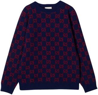 Gucci Blue Sweater