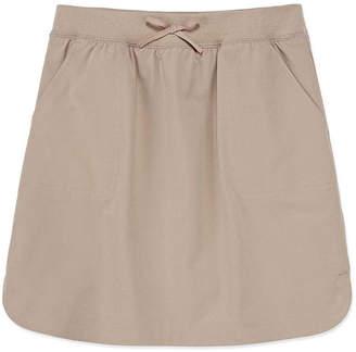 Izod EXCLUSIVE Exclusive Girls Comfort Waistband Elastic Waist Short Scooter Skirt