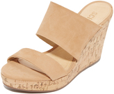 Schutz Kai Wedge Slides