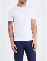 Sunspel Q82 Cotton-jersey Henley Top