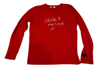 Bella Freud Red Wool Knitwear