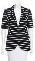 M Missoni Striped Knit Jacket