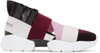 Emilio Pucci Black City Up Sneakers