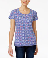 Charter Club Printed Cotton T-Shirt, Created for Macy's