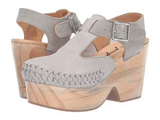 Free People Emmer Clog (Grey) Women's Shoes