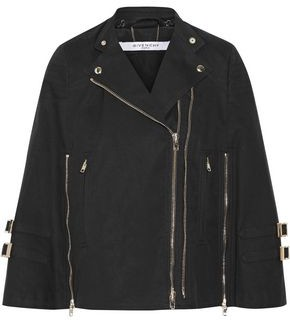 Givenchy Washed Cotton-Blend Canvas Cape