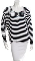 Rebecca Minkoff Striped Long Sleeve Top