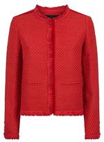 Maje Valou Woven Tweed Jacket