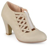 Brinley Co. Women's Round Toe High Heel Matte Booties