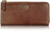 The Bridge Story Donna Brown Leather Zip Wallet
