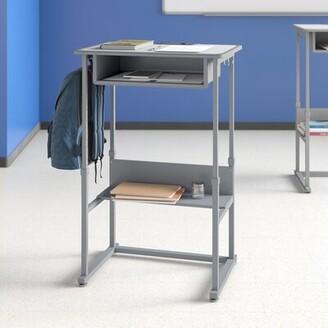 Luxor Laminate Adjustable Height Open Front Standing Desk