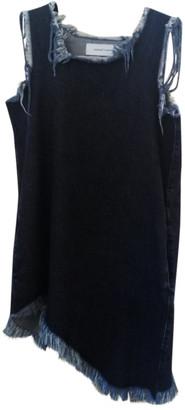 Marques Almeida Navy Denim - Jeans Dresses